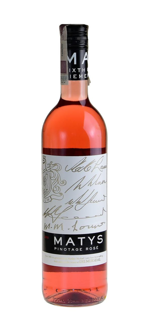 butelka matys pinotage rose
