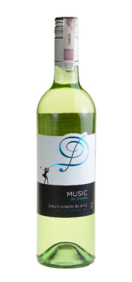 butelka sauvignon blanc music